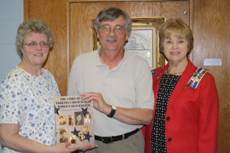 L-R  Author, Gwendolyn McCaffrey McReynolds, Jack Wood, Mandy Williams