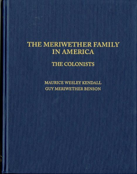 Book - Meriwether001