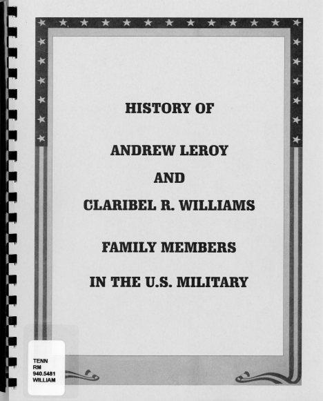Book - Williams WWII001