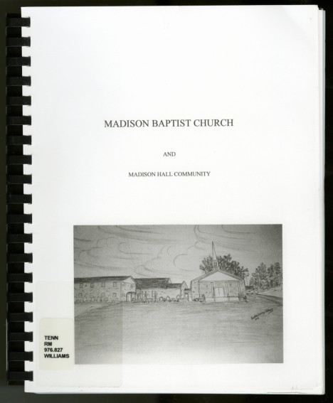 Book - Madison Bapt Ch002